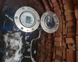 吉林松原不锈钢电池供电压力采集GPRS远传电磁安装