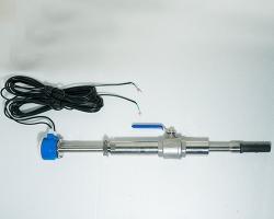 分体插入式电磁流量计传感器